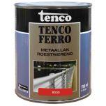 Tenco ferro roestwerende ijzerverf rood - 750 ml.