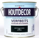 Hermadix houtdecor verfbeits amsterdams groen - 2,5 liter