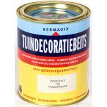 Hermadix tuindecoratiebeits dover wit - 750 ml.