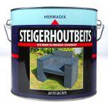 Hermadix steigerhoutbeits antraciet - 2,5 liter