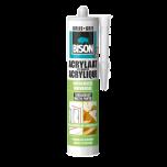 Bison acrylaatkit grijs - 310 ml.