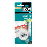 Bison dubbel fix verwijderbaar - dubbelzijdige tape