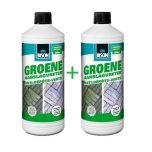 Bison groene aanslagvreter - 1 liter + gratis 1 liter