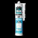 Bison siliconenkit acrylbaden wit