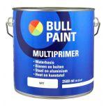 Bullpaint  universele grondverf op waterbasis wit (multiprimer) - 2,5 liter