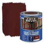 Cetabever deur & kozijn meesterbeits transparant glans mahonie - 750 ml.