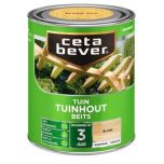 Cetabever tuinhout beits transparant zijdeglans teak 085 - 750 ml.