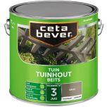 Cetabever tuinhout beits transparant zijdeglans grijs 033 - 2,5 liter