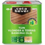 Cetabever vlonder- & terrasolie bankirai UV proof - 2,5 liter