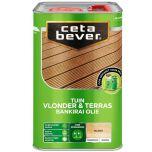 Cetabever vlonder- & terrasolie bankirai UV proof - 4 liter