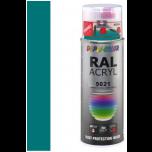 Dupli-Color acryllak hoogglans RAL 5021 water blauw - 400 ml
