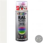 Dupli-Color acryllak zijdeglans RAL 9016 verkeerswit - 400 ml