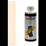Dupli-Color platinum zijdeglans lak RAL 9001 crèmewit - 400 ml.