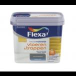 Flexa mooi makkelijk vloeren & trappen lak donkergrijs - 750 ml.