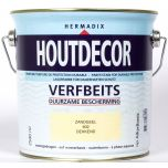 Hermadix houtdecor verfbeits zandgeel - 2,5 liter