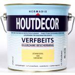 Hermadix houtdecor verfbeits zonnegeel - 2,5 liter