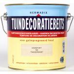 Hermadix tuindecoratiebeits dover wit - 2,5 liter