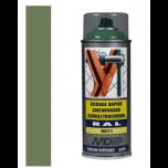 Motip industrial acryllak hoogglans RAL 6011 reseda groen - 400 ml.