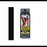 Motip industrial lak hoogglans RAL 9005 diep zwart - 400 ml.