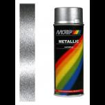 Motip metallic lak zilver 04046 - 400 ml.