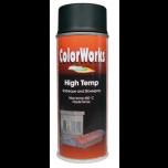 Motip Colorworks hittebestendige lak zwart - 400 ml.