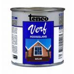 Tenco verf hoogglans bruin - 250 ml
