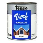 Tenco verf hoogglans wit (RAL 9010) - 750 ml
