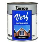 Tenco verf hoogglans zwart (RAL 9005) - 750 ml