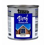 Tenco verf zijdeglans wit (RAL 9010) - 250 ml