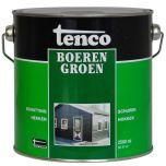 Tenco boerengroen beits - 2,5 liter