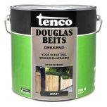 Tenco douglas beits waterbasis dekkend zwart - 2,5 liter