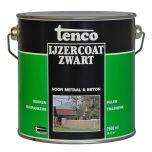 Tenco ijzercoat zwart - 2,5 liter