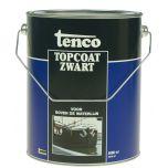 Tenco topcoat zwart - 5 liter