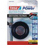 Tesa extreme repair reparatietape zwart - 2,5 meter x 19 mm.