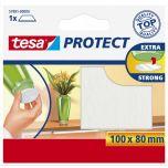 Tesa protect vilt wit - 100 x 80 mm.