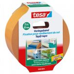 Tesa tapijttape extra sterk - 25 m x 50 mm.