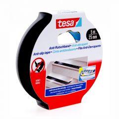 Tesa anti-slip tape zwart - 5 m x 25 mm
