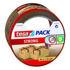 Tesa tesapack strong verpakkingstape bruin - 66 m x 50 mm