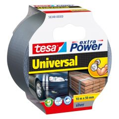 Tesa extra power universal tape grijs - 10 m x 50 mm