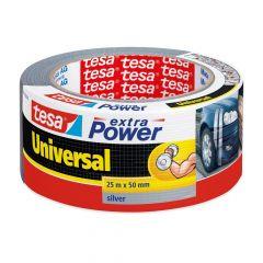 Tesa extra power universal tape grijs - 25 m x 50 mm