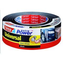 Tesa extra power universal tape zwart - 50 m x 48 mm