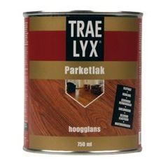 Trae-Lyx parketlak hoogglans - 2,5 L