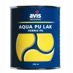 Avis Aqua Pu lak satin - 1 L