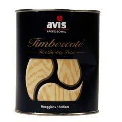 Avis Timbercote hoogglanslak transparant mahonie - 1 L