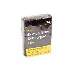 3M Scotch-Brite schuurpad fijn - 10 stuks