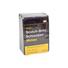 3M Scotch-Brite schuurpad middel - 10 stuks
