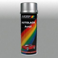 Motip kompakt acryl autolak metallic zilver (55300) - 400 ml.