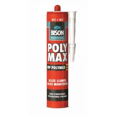 Bison professional poly max  wit - 425 gram