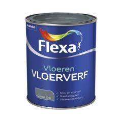 Flexa vloerverf granietgrijs - 750 ml.