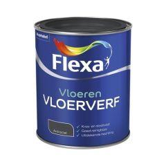 Flexa vloerverf antraciet - 750 ml.